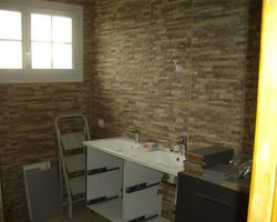 Calheiros Plomberie Rénovation - Tullins - Rénovation salle de bain complète